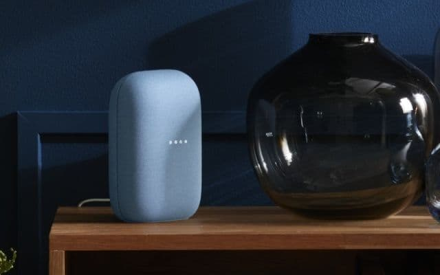 Haut-parleur intelligent Google Nest Audio