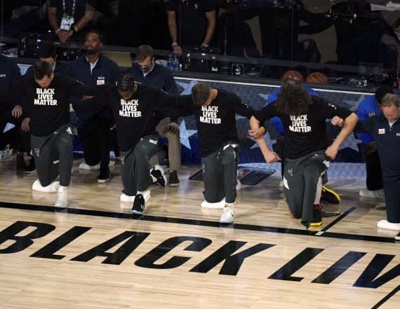 Anonymous NBA agent rips league's 'BLM' support