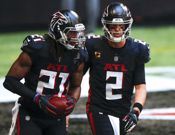 Video reveals Matt Ryan repeatedly told Todd Gurley not to score before catastrophic TD