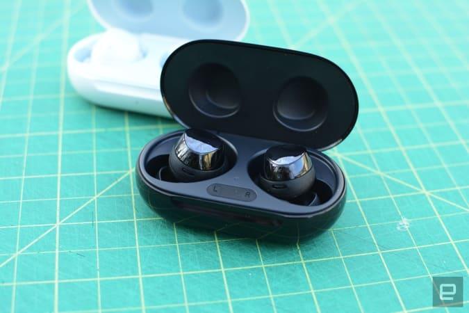Samsung Galaxy Buds+ earbuds