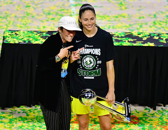Megan Rapinoe and Sue Bird get engaged after four years together