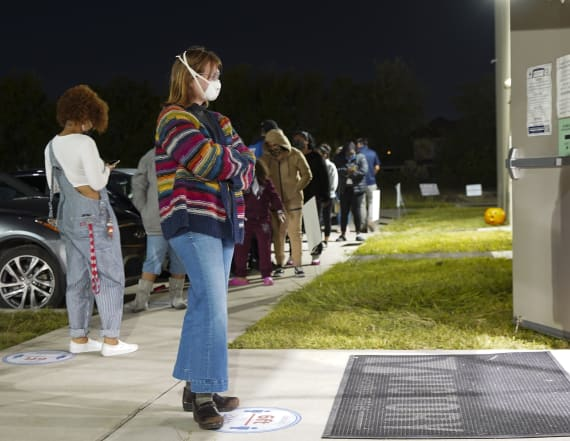 Texas early voting passes total of all 2016 ballots