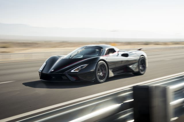 SSC North America Tuatara speed test
