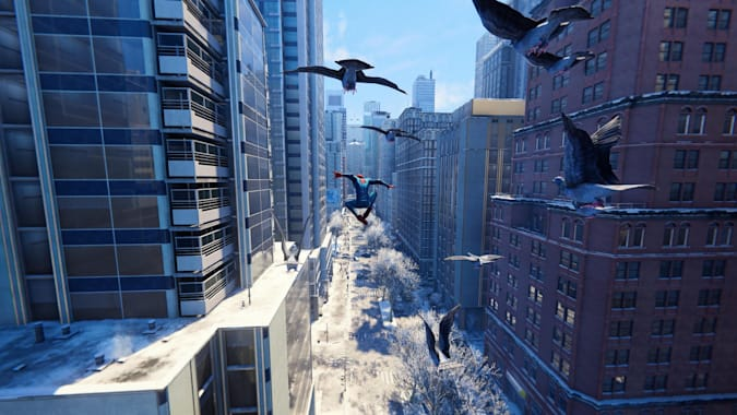 Marvel's Spider-Man: Miles Morales on PS5.
