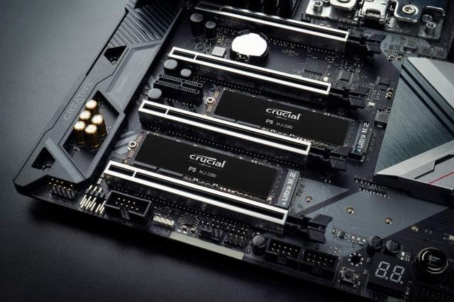 Crucial P5 1TB 3D NAND NVMe Internal SSD