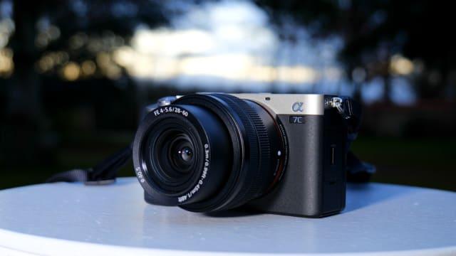 Sony A7C full-frame mirrorless camera