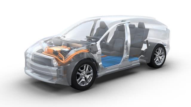 تویوتا SUV برقی