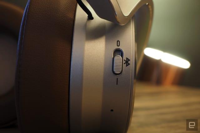 Meters Music' OV-1-B Connect Bluetooth Headphones ears-on