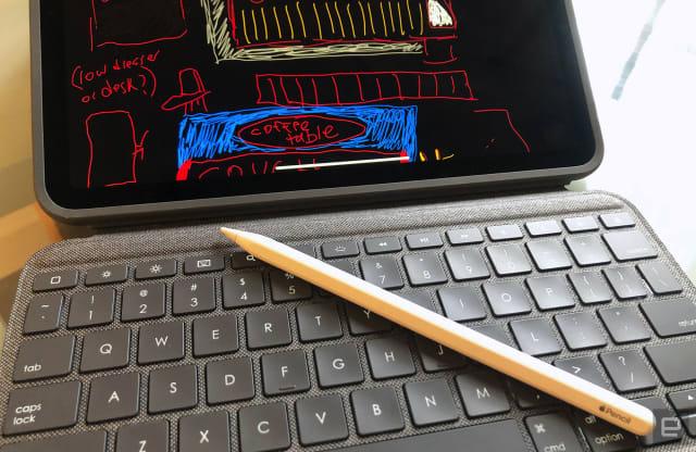 Logitech Folio Touch iPad Keyboard