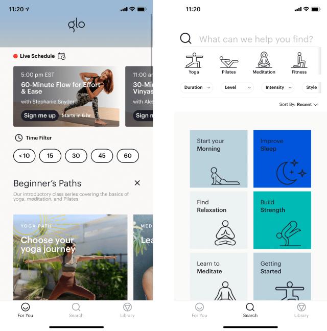 Glo Yoga screenshots