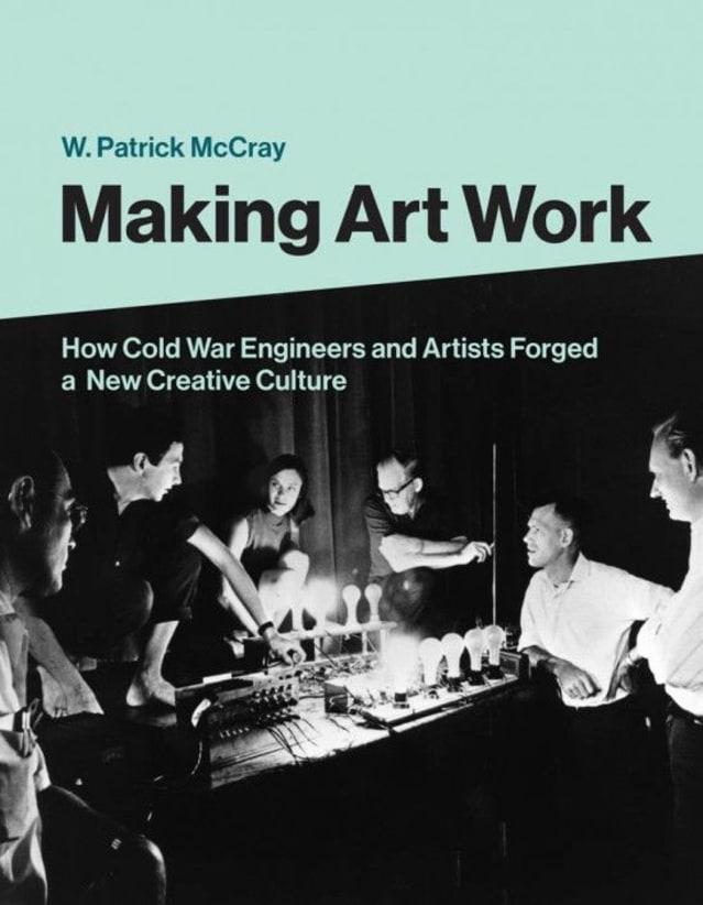 ساخت یک اثر هنری توسط W. Patrick McCray