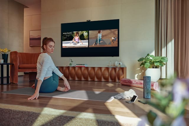 Samsung Health Smart Trainer Q TV