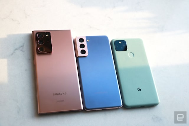 Samsung Galaxy S21 review by Engadget