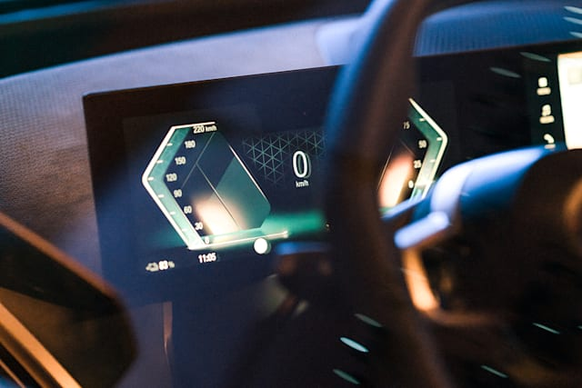 iDrive in the BMW iX electric SUV
