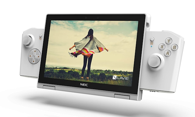 PC de jeu concept Lenovo NEC Lavie Mini.
