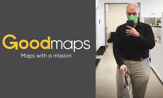 Goodmaps accessibility for vision impaired.
