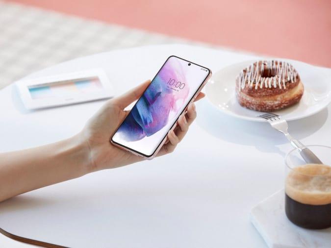 Galaxy S21 Plus display