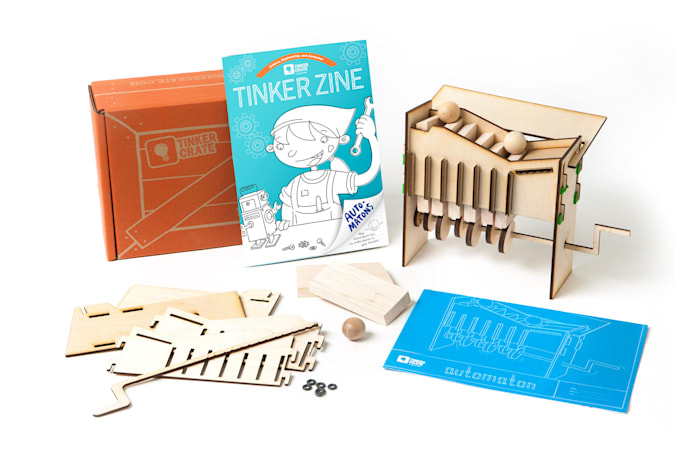 Image of a Kiwi Crate tinker-crate
