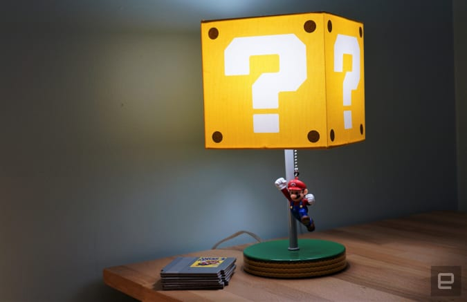 Mario Table Lamp