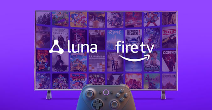 Amazon Luna on Fire TV