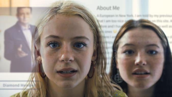 Los buscadores de citas aplicación de cine documental Sundance 2021 todavía