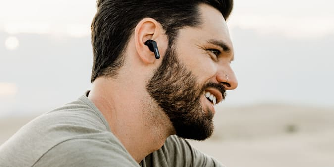 PaMu Quiet Active Noise Cancelling Wireless Earbuds