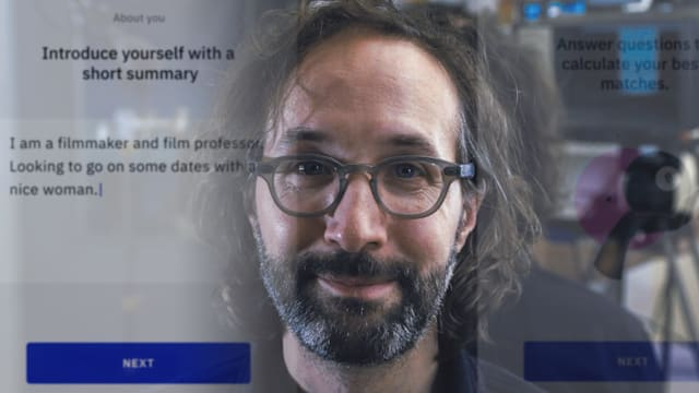 Searchers dating app documentary film still Sundance 2021