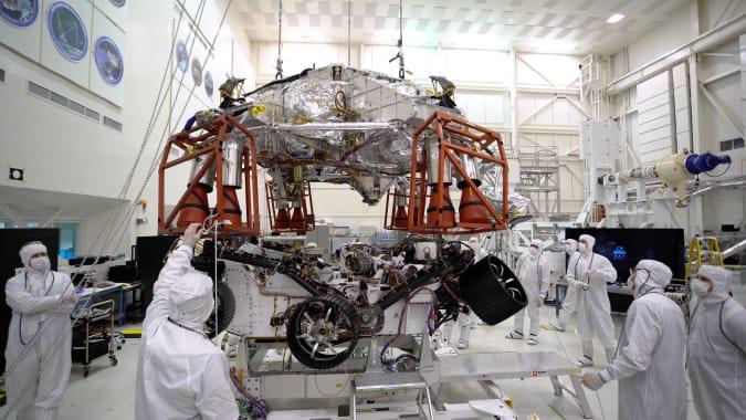 Mars 2020 Perseverance Mission