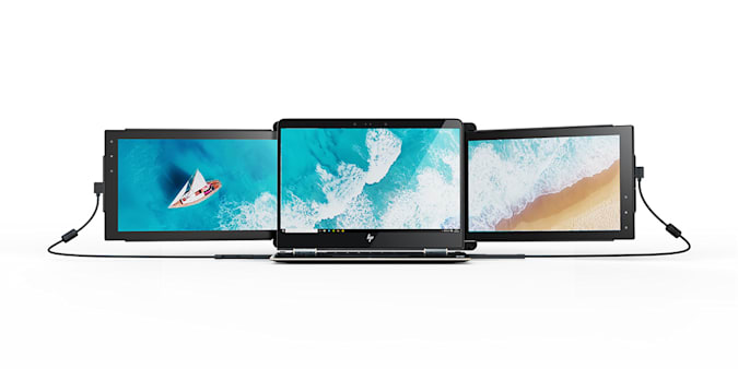 Mobile Pixels TRIO: Portable Dual Screen Laptop Monitor