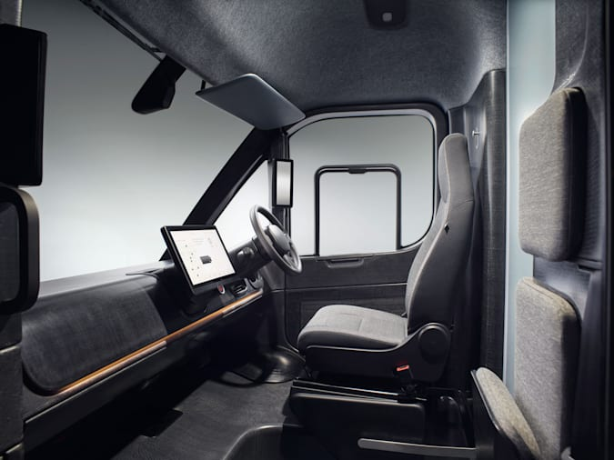 Image of the interior of the Arrival Van