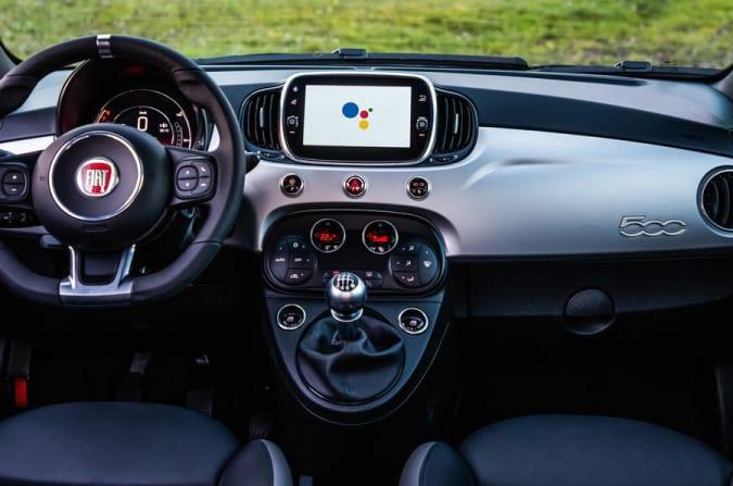 Google-branded Fiat 500 range
