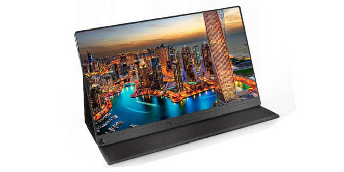 """Press image of the UPERFECT 15.6"""" Portable Monitor."""