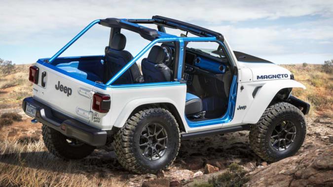 Jeep Wrangler Magneto concept 4x4