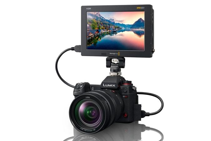 Panasonic S1H Blackmagic Design Video Assist 12G HDR