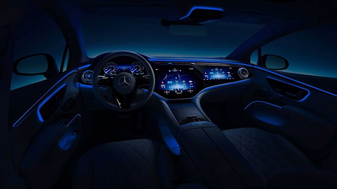 Mercedes-Benz's EQS interior is a blend of luxury and high-tech