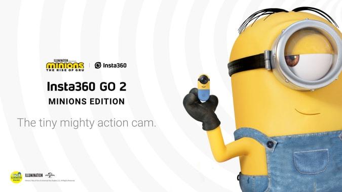 Insta360 Go 2 Minions Edition