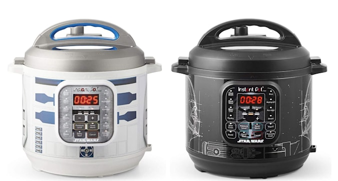 The Star Wars Instant Pots pots arrived in the low season before May 4th