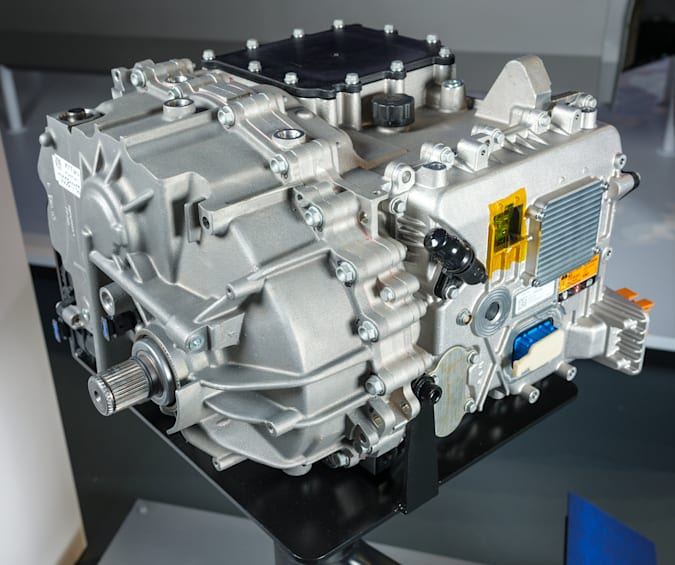 General Motors has unveiled its all-new modular platform and battery system, Altium, Wednesday, March 4, 2020, at the design dome of the GM Tech Center campus in Warren, Michigan.  (Photo by Steve Fact for General Motors)