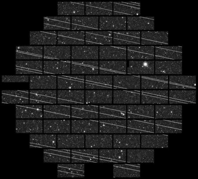 Starlink light pollution