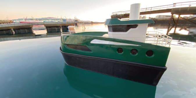 Nanom EV boat.
