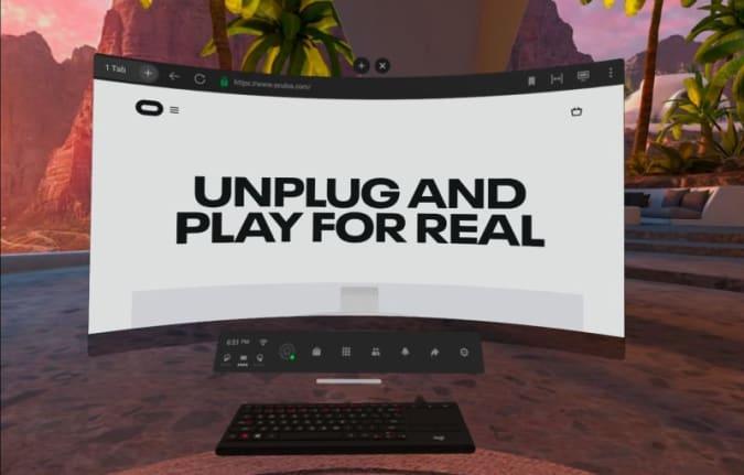 Oculus Infinite Office
