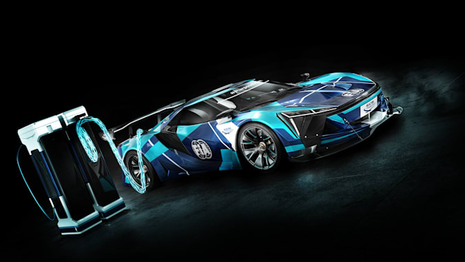 FIA launches 'groundbreaking' electric GT motorsports category