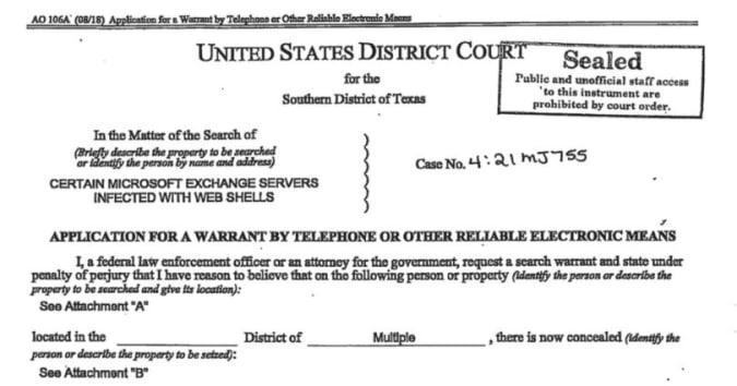 Orden judicial de hafnio