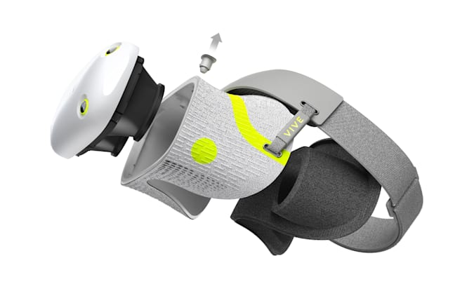 Fugas de los auriculares VIVE Air VR de HTC