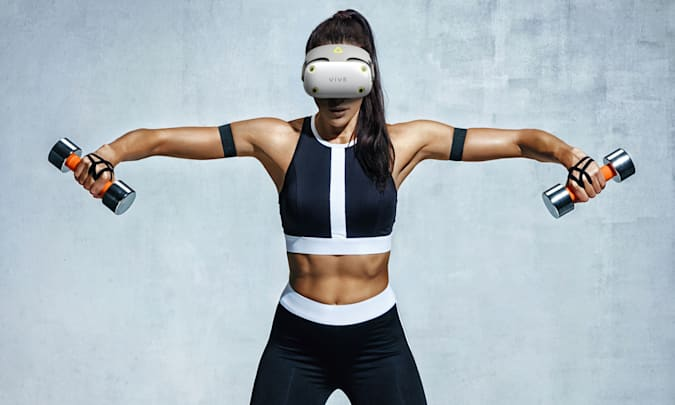 Se filtraron los auriculares HTC VIVE Air VR