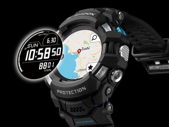 Η Casio παρουσιάζει το πρώτο έξυπνο ρολόι G-Shock με το Wear OS