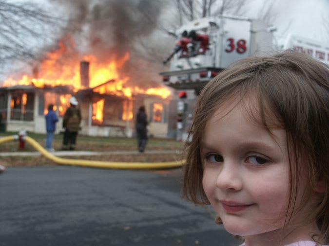 'Disaster Girl'