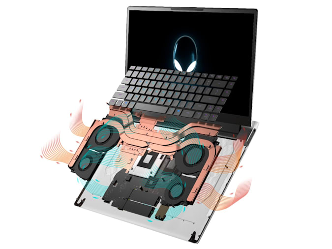 Alienware x15 airflow