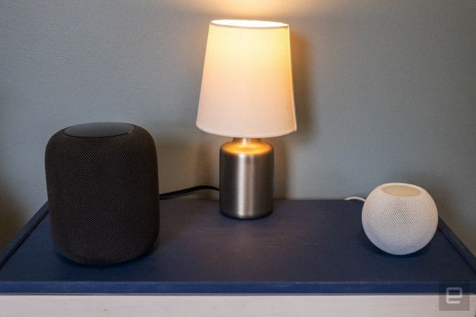 HomePod speakers