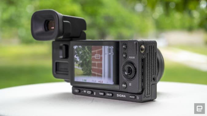 Sigma fp L full-frame mirrorless camera hands-on